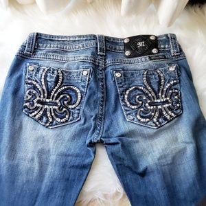 Miss Me Signature Boot Cut Denim Jeans